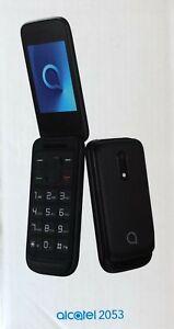 ALCATEL 20.53D ALW8 2053 Schwarz 4MB Klapphandy 1,3MP Kamera Bluetooth OVP