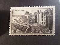 FRANCE 1945, timbre 747, REMPARTS SAINT MALO', neuf**, VF MNH STAMP