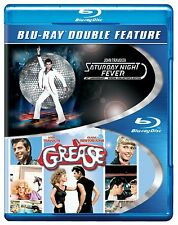 GREASE / SATURDAY NIGHT FEVER (John Travolta) - Blu Ray -Sealed Region free