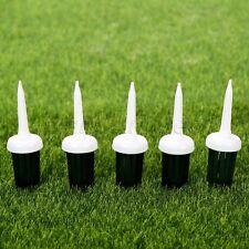 50pcs 57mm Golf Brush Tees Sports Practice Driver Training Bristle Plastic Tee