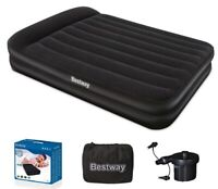 Bestway Tritech Raised Double Airbed with Electric Pump 1 Year Guarantee