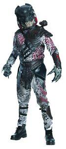 Predator Deluxe Adult Costume Jumpsuit With Eva Chest Piece Halloween
