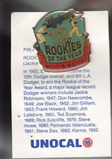 VINTAGE L.A. DODGERS UNOCAL PIN (UNUSED) - ROOKIE OF THE YEAR