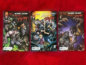 DARKNESS  PITT 1 2 3 SET   DALE KEOWN ART - 2009   - TOP COW  IMAGE COMICS