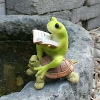 Resin Miniature Fairy Garden Micro Landscape Home Figurine Decor Frog #1