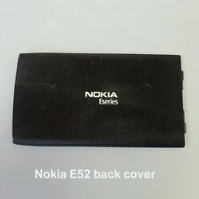 100% Genuine Nokia E52 Mobile Phone Back Battery Cover Fascia Housing - Black