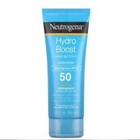 [NEUTROGENA] HYDRO BOOST Sunscreen Non Greasy Water Gel Lotion SPF 50 88g NEW