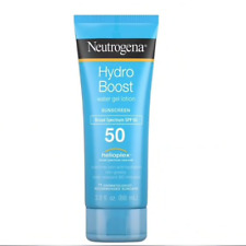 [NEUTROGENA] HYDRO BOOST Sunscreen Non Greasy Water Gel Lotion SPF 50 88g NEW