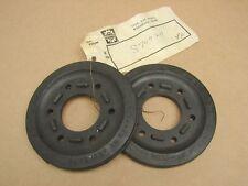 Vintage NOS OEM Skidoo Snowmobile Rubber Bogie Idler Wheels (Pair) 570-0211