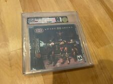 Quake III Arena (Sega Dreamcast, 2000) Graded VGA 90 Uncirculated GOLD