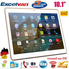 16GB 10.1 IPS Tablet PC Dual SIM/CAM QuadCore OTG 3G+WiFi Bluetooth Excelvan NEU