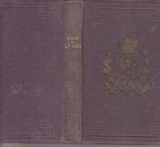 C1 ASTRONOMIE Jacques Henri FABRE - LE CIEL Delagrave 1880 RELIE Illustre