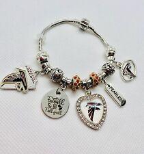 Atlanta Falcons~ charm bracelet NFL