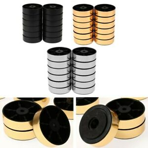 12 Speakers Anti Vibration Pads Amplifier Isolation Feet Mat Fit Audio Equipment
