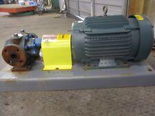 Worthington Flowserve 1 2 Iron Pump W Motor On Base