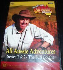 Russell Coight's All Aussie Adventures 1 & 2 (Australia Region 4) DVD - New