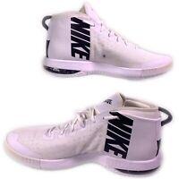 Men's Nike Air Max Dominate TB Basketball Shoes 942520-101 White/Black Size 16