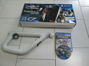 PS4 : FIREWALL ZERO HOUR + AIM CONTROLLER per PLAYSTATION VR - Completo, ITA !