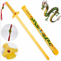 Martial Arts Kung Fu Tai Chi Bamboo Sword Toy Practice Performance Decoration