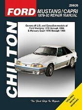 Chilton 26606 Repair Manual 1979-1993 Ford Mustang Capri