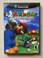 Mario Golf: Toadstool Tour (Nintendo GameCube, 2003) Black Label Complete CIB