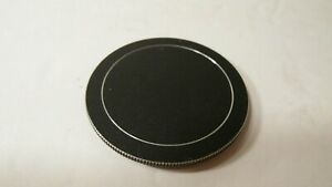 RARE CLEAN BLACK METAL 52MM SCREW IN ON LENS CAP COVER -USA SELLER-FAST SHIPPING