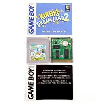 Kirby's Dream Land 2 (Nintendo Game Boy, 1995) Authentic w/ Manual Tested Works