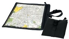 map and document case black weather resistant rothco 9838