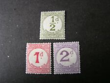 BECHUANALAND PROT. SCOTT # J4-J6(3) 1961 POSTAGE DUE MH