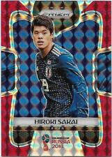 2018 Panini FIFA World Cup Red Mosaic Prizm (117) Hiroki SAKAI Japan