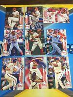 2020 Topps Series 2 Baseball Complete 9 Card Team Set PHILADELPHIA PHILLIES