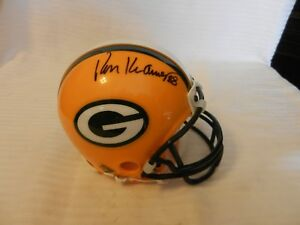 Ron Kramer #88 Green Bay Packers Signed Mini Helmet