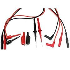 AIdeTek teat leads for FLUKE EXTECH multimeter Electronic Test Lead Kit TLP20155
