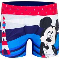 Costume da bagno  bambino topolino boxer pantaloncino bimbo mare piscina  2 4 6