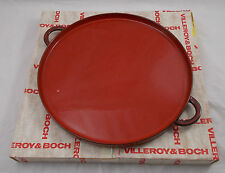 Villeroy & and Boch GRANADA round tray with handles NEW BOXED 2nd quality BL357