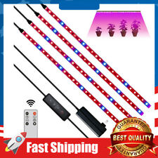 LED Grow Light,24W 120 LEDs Light Strips with Auto On/Off Grow Lamp 3 Modes