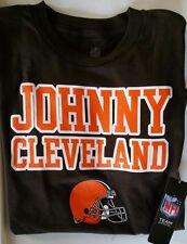 $25 JOHNNY CLEVELAND-T-SHIRT NFL SHOP BROWNS FOOTBALL MANZIEL-Boys YOUTH XL 18