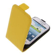 Funda para Samsung Galaxy Joven 2 Estilo Flip de Móvil Protectora Amarillo