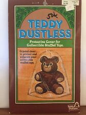 "Vintage ~ Teddy Dustless ~ Dolly Dustless ~ Protective Cover ~ 11"" Seated"
