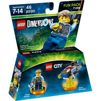 LEGO Dimensions, LEGO City Fun Pack Chase McCain Set 71266 NEW