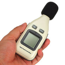 Sound Level Meter Tester 35 to 130 Decibels, High Accuracy & Backlit Display