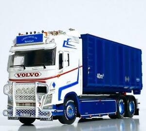 """Volvo FH4 GL hooklift system+container""""Loods Akeri""""WSI truck models 01-3342"""