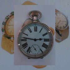 WW1 Argento Goliath brevetto 8-Giorno Brevetto Militare 17J Omega Hi-Grade Watch 191