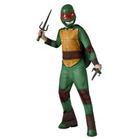 Kid Boys Teenage Mutant Ninja Turtles Raphael Halloween Cosplay Costume Jumpsuit