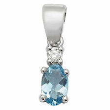 Aquamarine Unbranded Fine Necklaces & Pendants