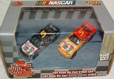 2 Pack Racing Champions 1999 NASCAR 1:64 DieCast Silver Chrome Terry Labonte Car