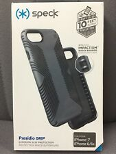 Speck Presidio Grip Case For iPhone 8 / 7 / 6 / 6s GREY - NEW & Authentic