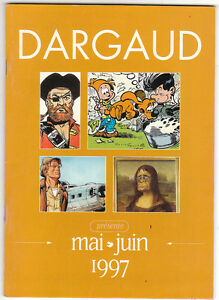 Catalogue des éditions DARGAUD mai juin 1997 - TBE