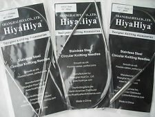 "HiyaHiya 2.5mm x 40cm (16"") Stainless Steel Circular Knitting Needles"