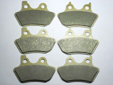 Front Rear Brake Pads For Harley Touring FLHRCi Road King Classic 2001 2002 2003